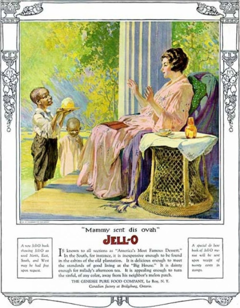 racist jell-o ad