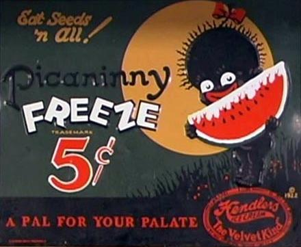 racist picaninny freeze ad
