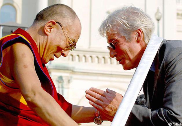 richard gere with dali lama