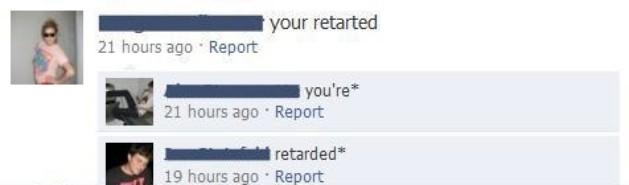stupid people
