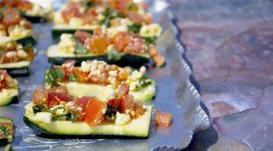 Greek Zucchini Bruschetta