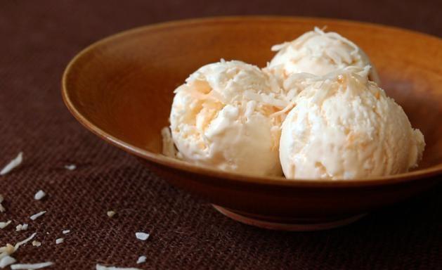 coconut ice cream