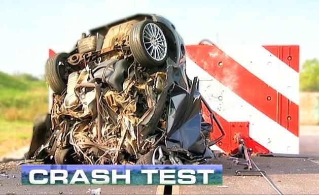 crash test car wrecked