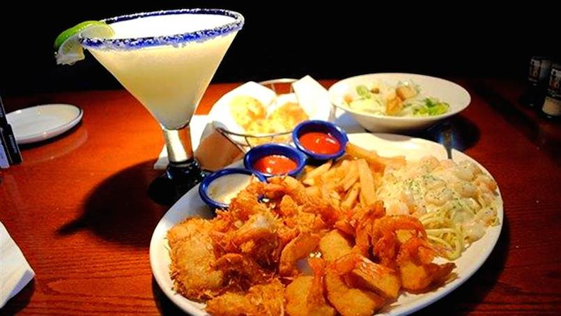 fried seafood on plate