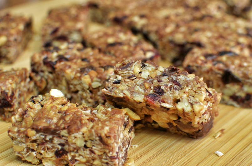 Mmm... peanut butter granola bars