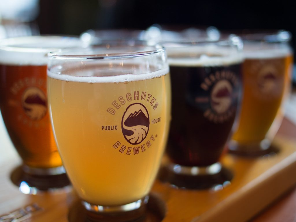 Deschutes Beer sample