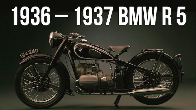 1936 BMW R 5 motorcycle