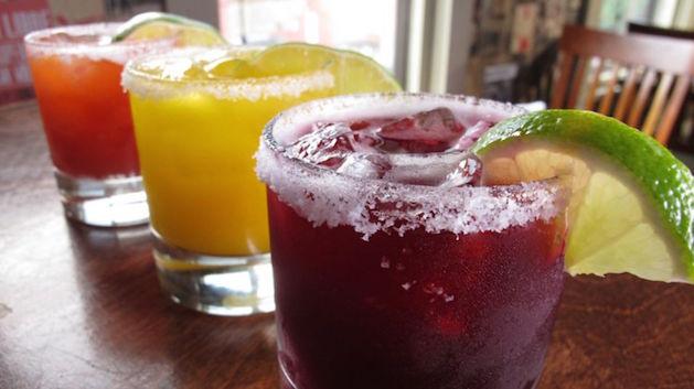 3 types of margaritas