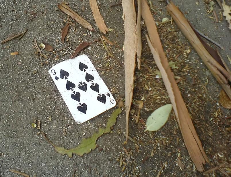 Nine of spades