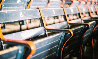 Blue seats at Fenway