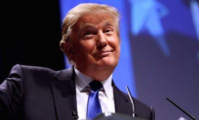Donald Trump Looking Smug