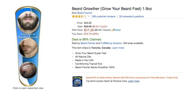 beard growther