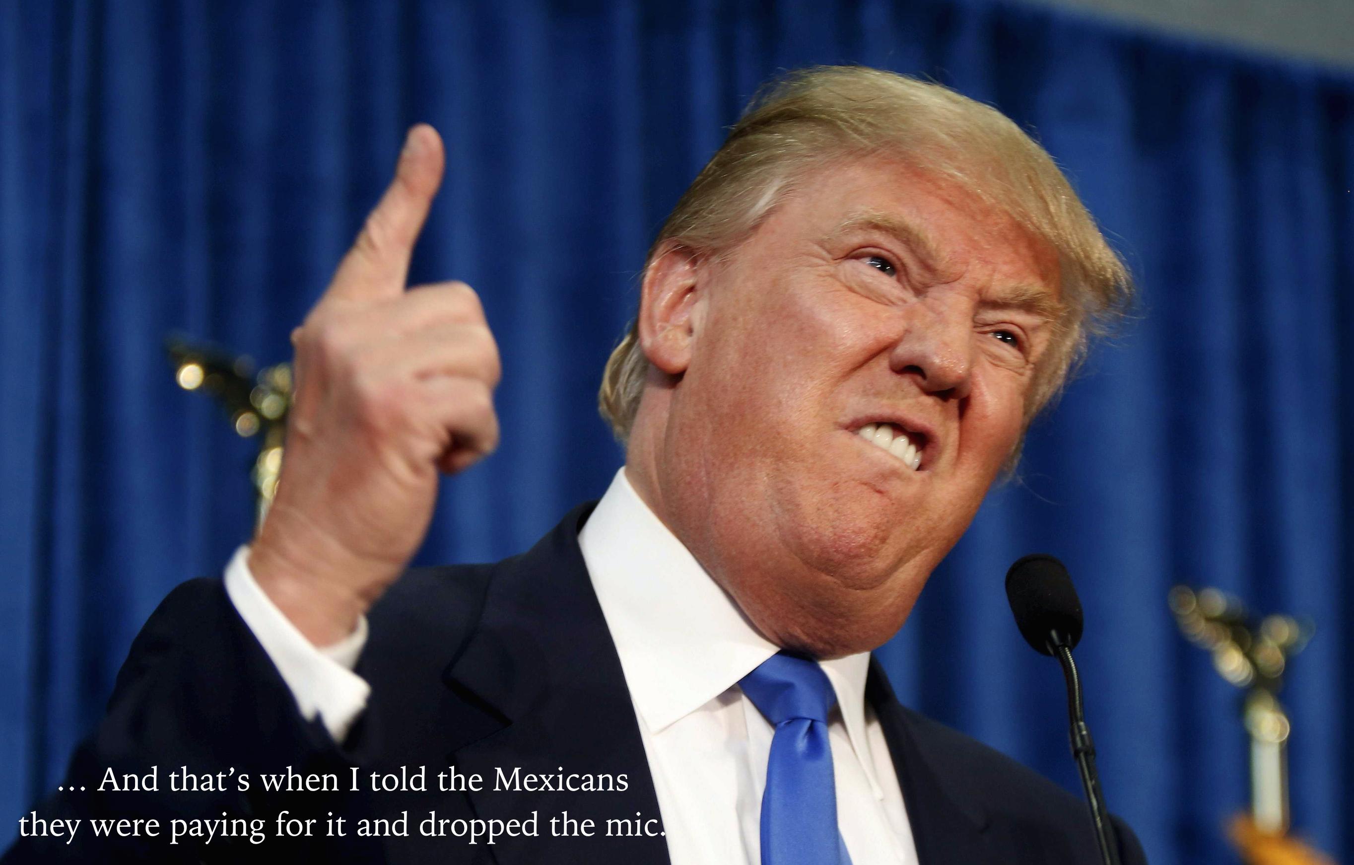donald trump finger wagging meme
