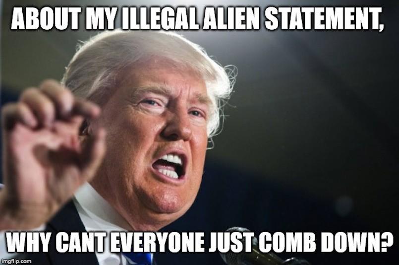 donald trump immigration immigrants meme