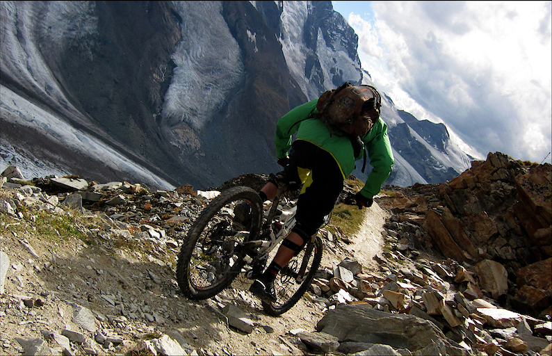 downhill mountain biking Zermatt