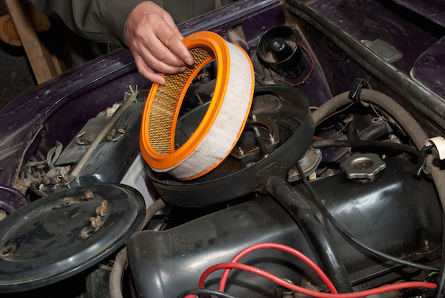 Repair of the old car