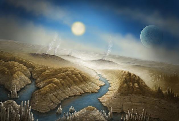 Kepler 452b painting