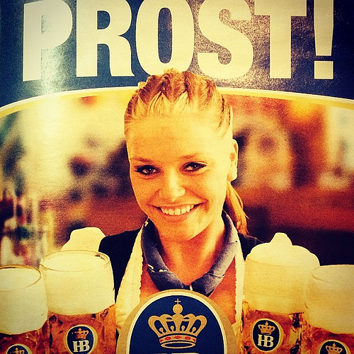 German beer girl
