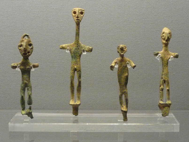 Sumerian figurines