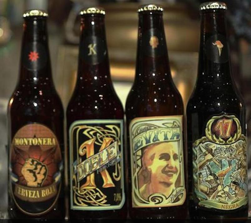 Argentina political beers
