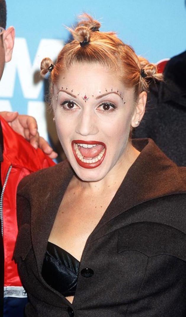Gwen Stefani bad hair buns