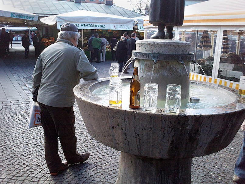 Bavaria Beer Fountain