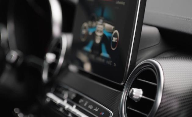 Mercedes-Benz V-Class AMG Line Interior Design