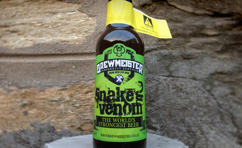 Snake Venom worlds strongest beer