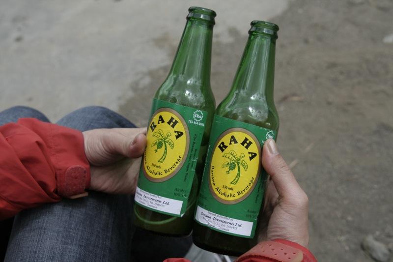 Tanzania banana beer