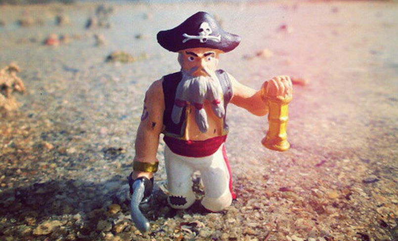 claymation pirate