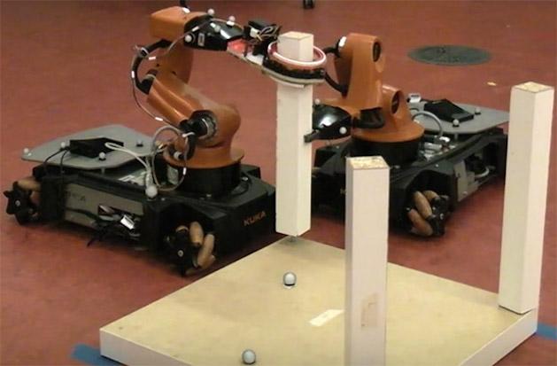 robots building ikea furniture