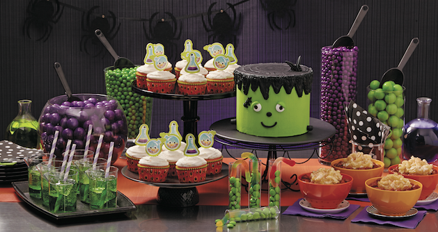 mad scientist halloween party theme
