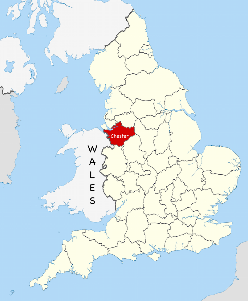 map of england by county