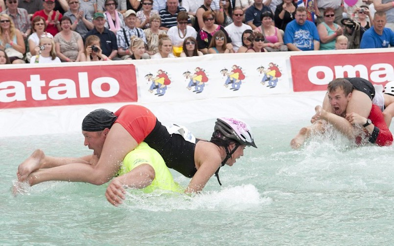 Wife Carrying Championships Finland
