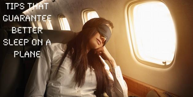 Better Sleep on Plane