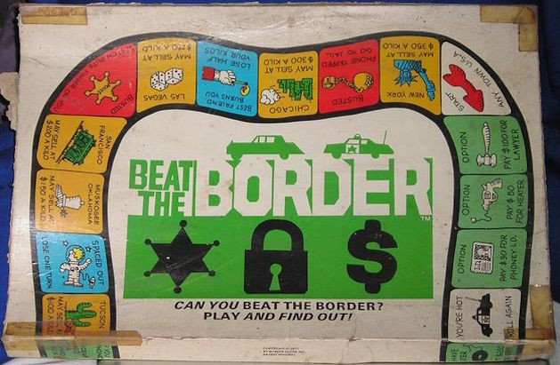 Beat the Border board game