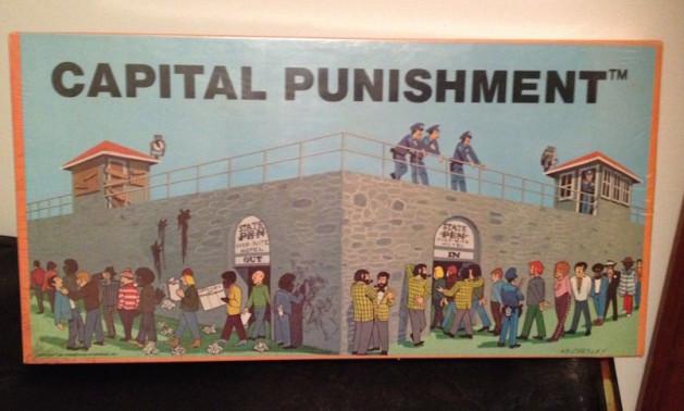 Capital Punishment board game