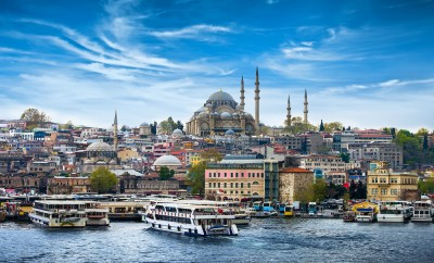Istanbul the capital of Turkey, eastern tourist city