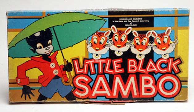Little Black Sambo board game