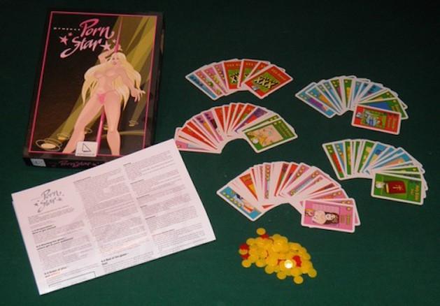 Project Pornstar board game