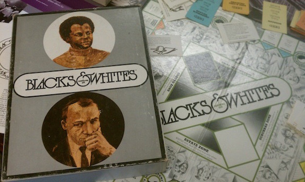 blacks & whites board game