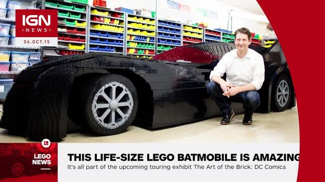 life sized batmobile