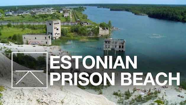 estonian prison beach