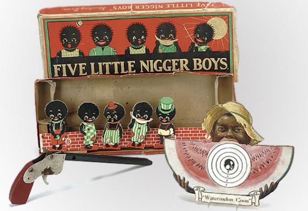 five little nigger boys