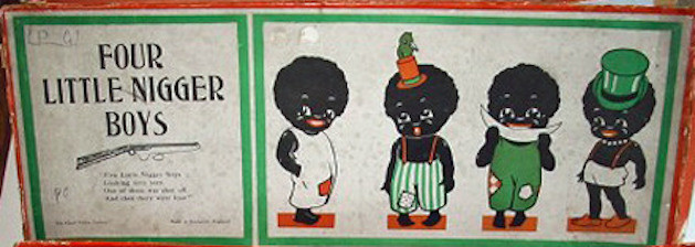 four little nigger boys board game