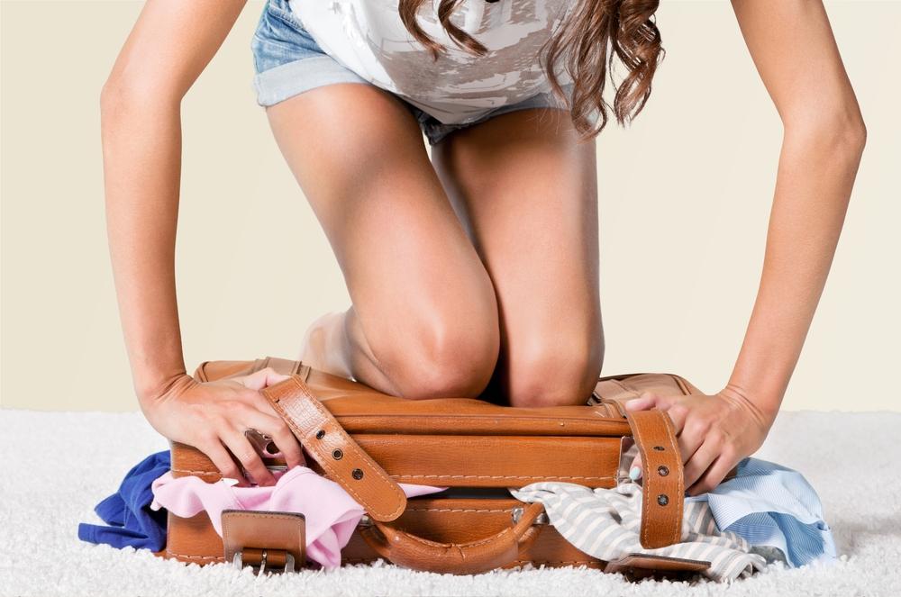 suitcase luggage packing