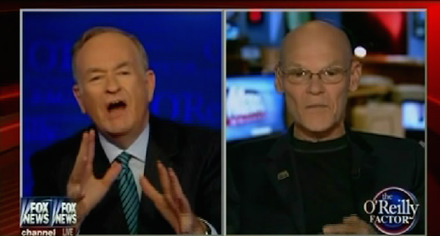Bill OREILLY and James Carville