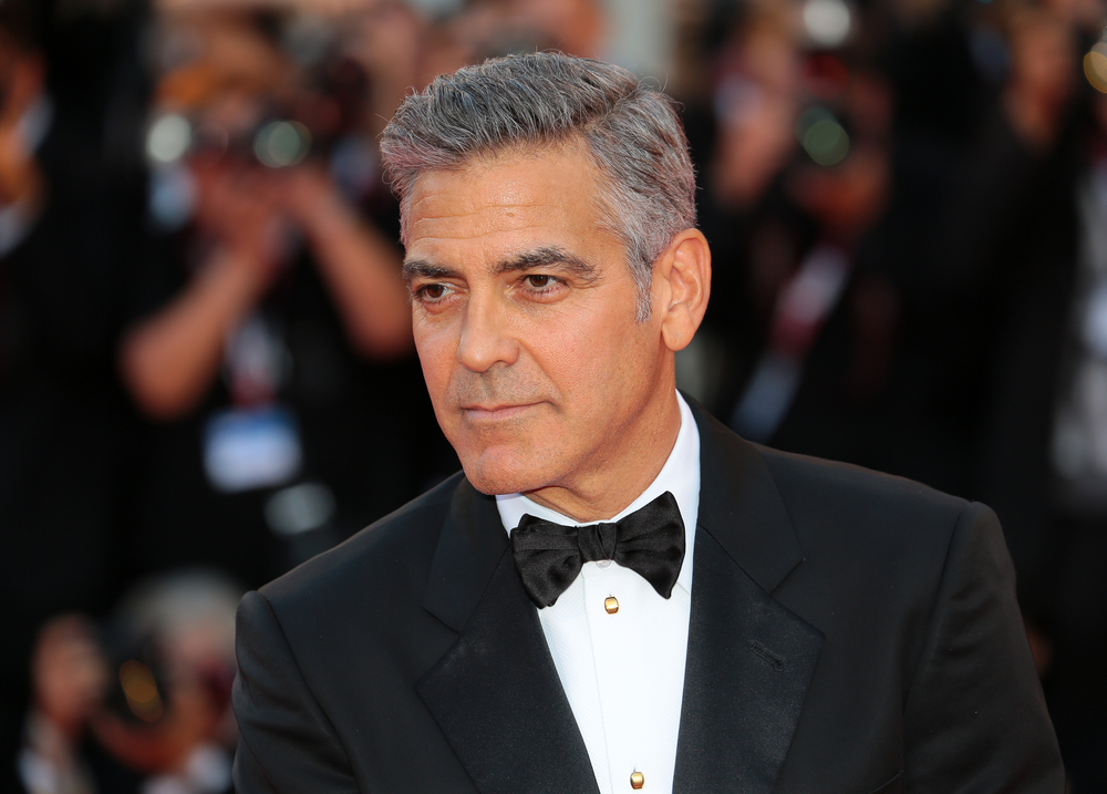 George Clooney attend 'Gravity' Premiere and Opening Ceremony during the 70th Venice International Film Festival on August 28, 2012 in Venice, Italy