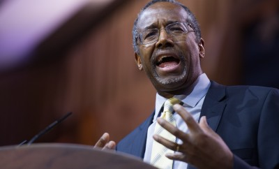 Neurosurgeon and author Ben Carson speaks at the Conservative Political Action Conference