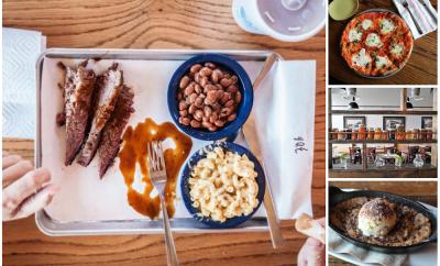 food collage from nashville restaurants